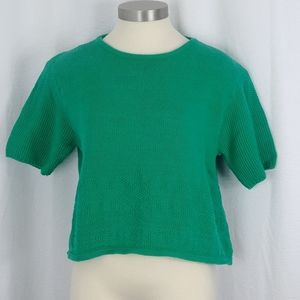 Benetton cropped sweater Size 48-Italy (us 10-12)
